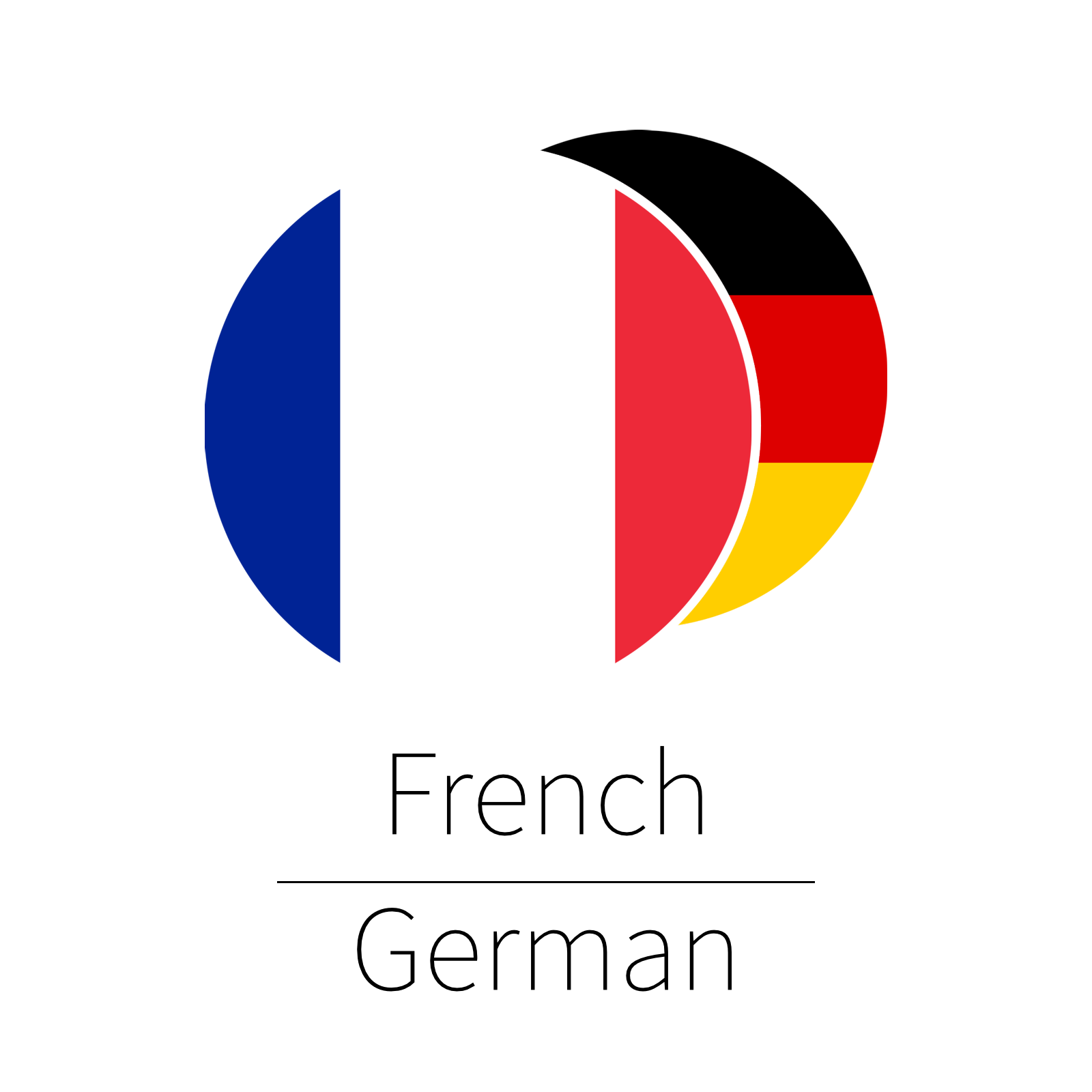 French - German