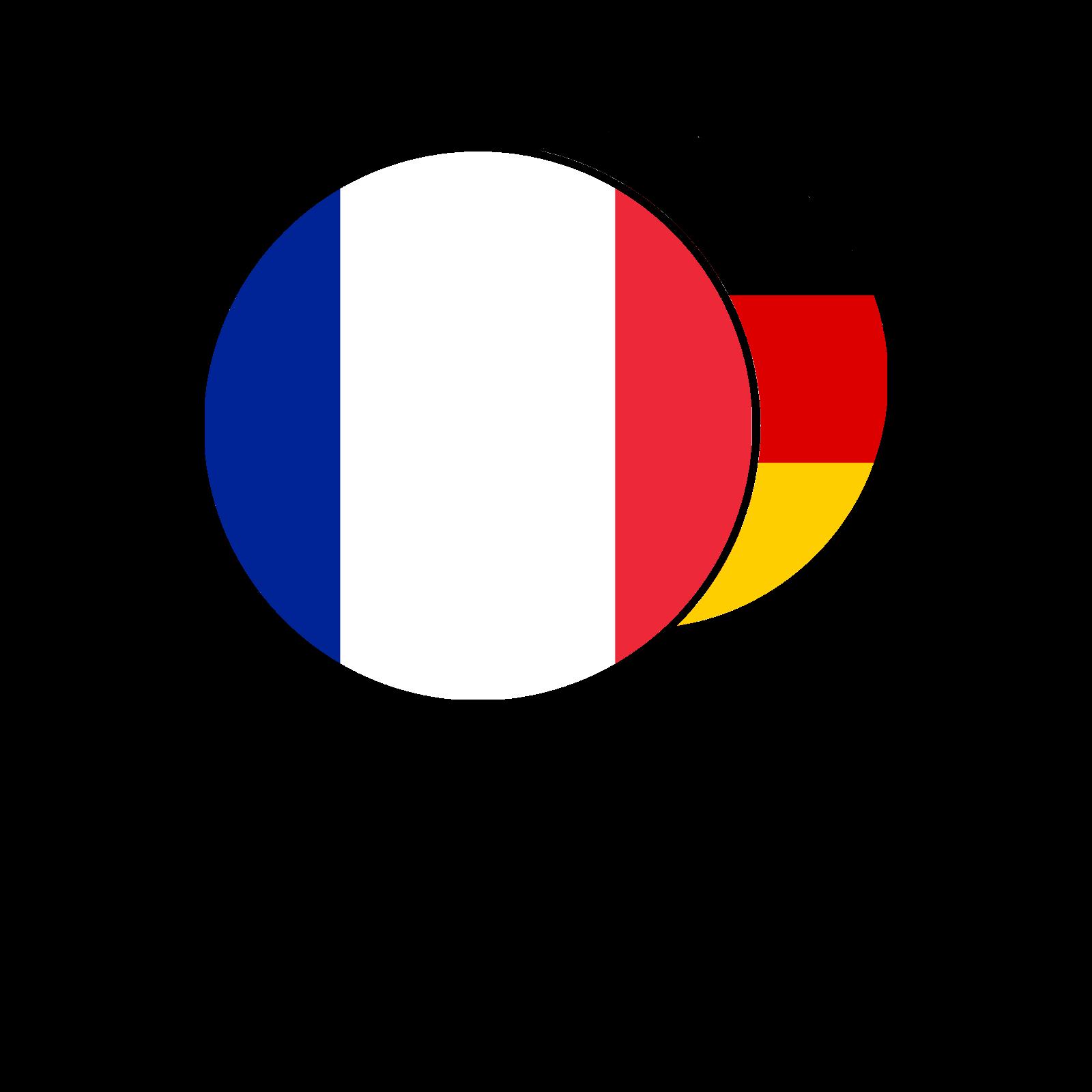 French - German