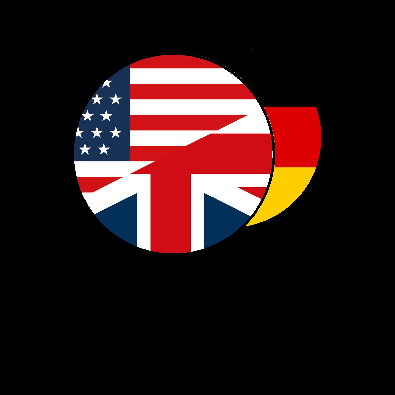Engelsk - Tysk